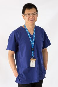 Dr Andrew Ong, endocrine surgeon.